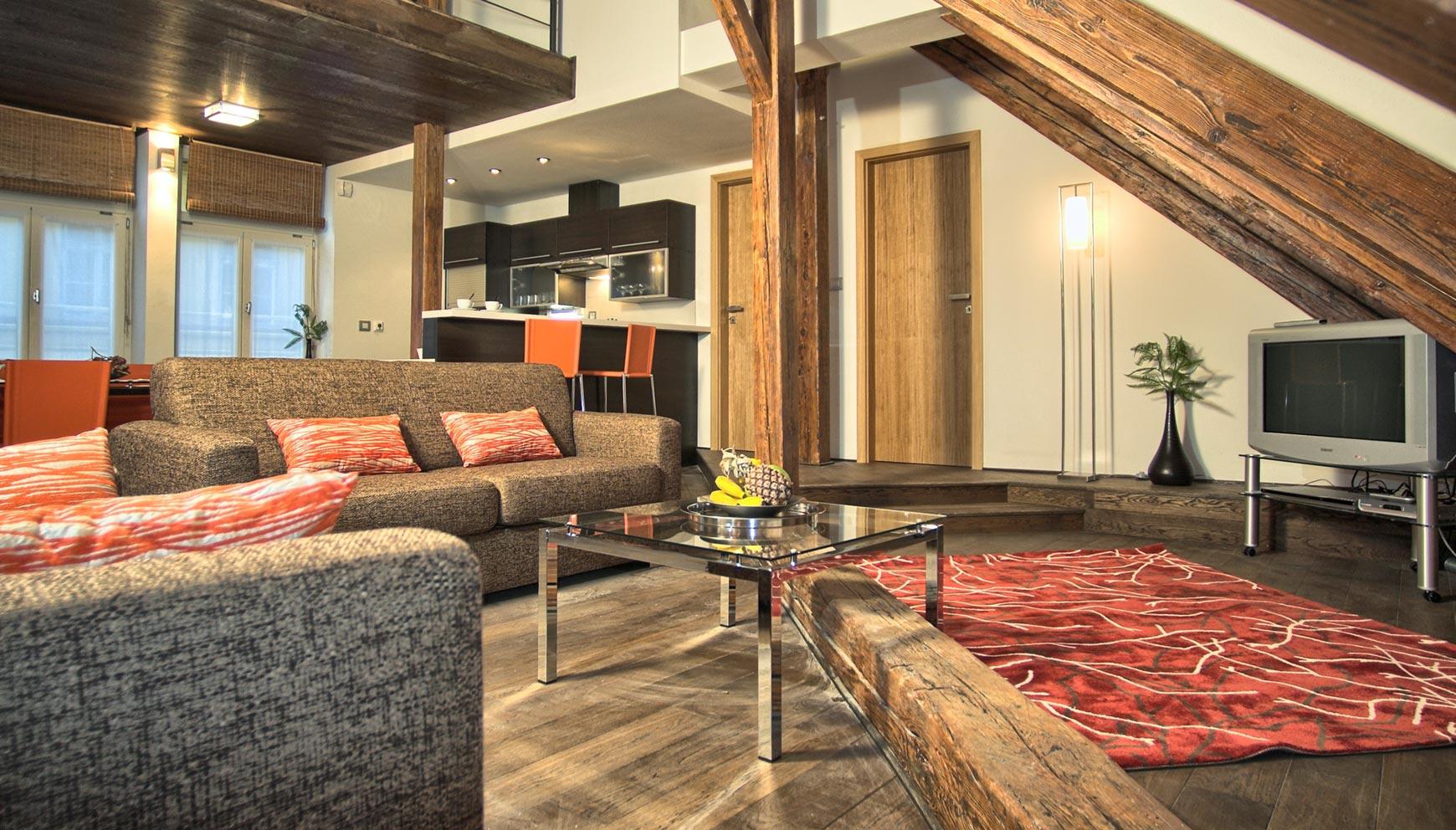 Duplex Apartment Interior Design Ideas. David Collins Living Room ...